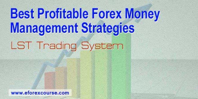 Money management strategies in forex trading