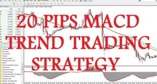 20 Pips MACD Trend Trading Strategy.