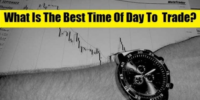 Six important times of the day to trade forex