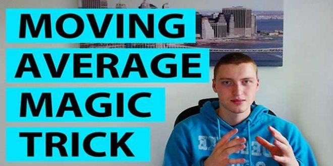 Moving Average Magic Trick Video