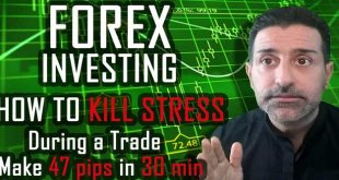 How To Kill Stress During A Trade / Make 47 Pips In 30 Min