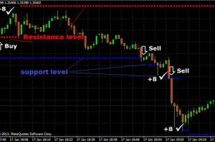 Here's an example of how 1 minute high frequency forex scalping system works: