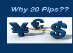 Power of 20 pips a Day – Why 20 pips?