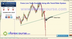 sRs Trend Rider Live Trade Example#4 EURUSD 22-03-2016